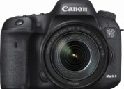 Canon - eos 7d mark ii dslr camera with ef-s 18-13