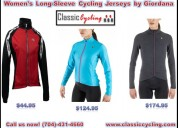 #1 branded women's long-sleeve cycling jerseys