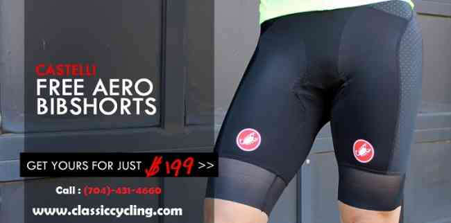 Discounted Price on Castelli Cycling Bib Shorts