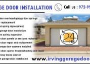 Garage door repair irving – 24-hour automatic gate