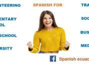 Spanish classes  / clases de español en quito