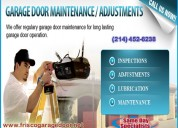 Expert garage door repair frisco, dallas