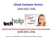 Icloud support phone number 1-844-855-3346