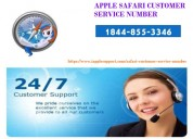 Apple safari support phone number 1844-855-3346