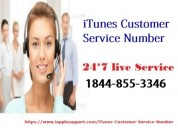Itunes support phone number 1844-855-3346