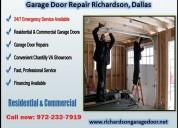 Commercial garage door repair richardson, dallas