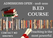 B ed admission in noida