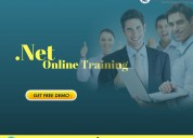 .net online training  | enroll now for demo