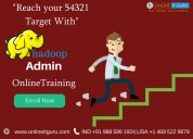 Hadoop administration online course | hyderabad