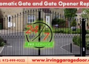 Dallas automatic gate installation and repair - tx