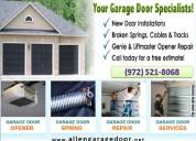 1 hrs emergency garage door repair in allen , tx