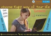 Tableau online course bangalore get 30% off