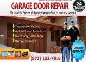 Expert garage door repair technicians 75081