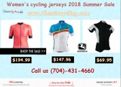 50 % discount on women's cycling clothing