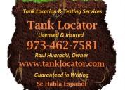 Barridos de tanques de aceite, pruebas de suelo e investigacione