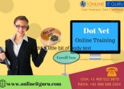 Dot net online course hyderabad