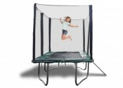 Best trampoline with enclosure combo @happy trampo