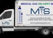 Medical testing solutions - medical gas equipment & service