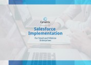 Salesforce implementation services by cymetrix