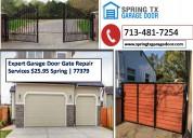 Instant gate installation services $25.95 77379 tx