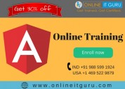 Angular js online course enroll now online it guru