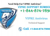 Vipre support phone number (toll free)