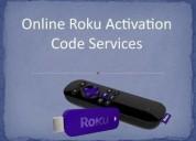 Activation of roku code