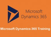 Looking best microsoft dynamics 365 training