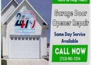 Bbb/a1rated garage door opener repair $25.95 77379