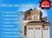 1 hour local garage door spring repair $25.95 7737
