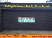 5 star garage door repair in allen tx
