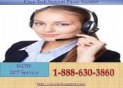 Cisco tech support number +1-888-630-3860