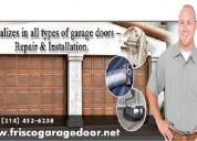 Roll up garage door repair services frisco 75034
