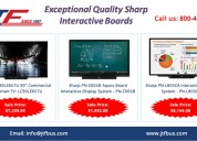 Buy exceptional quality sharp interactive boards
