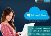 Azure online training   azure online course