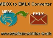 Convert batch files with mbox to emlx converter to