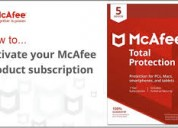 Mcafee activate, install and download mcafee antiv