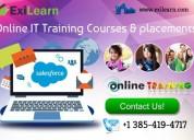 Salesforce online it training courses & placements