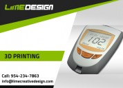 Bring ideas to life with 3d printing - lime design