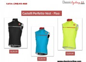 Top castelli perfetto vest at classiccycling.com