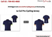 Sale on le col pro cycling jersey & men's cycling