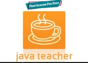 Java programming tutor, first lesson for free