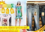 En verano aprovecha variedad de ropa para mujeres