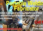 Offers in summer for all types of welds and struct