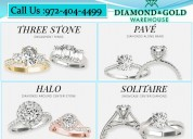 Engagement rings dallas - best quality diamonds tx