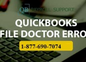 How to use quickbooks file doctor ?