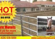 Custom horses corral builder