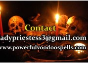 Lady priestess powerful black magic voodoo rituals and spells!