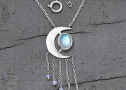Moonstone necklaces - magic moon