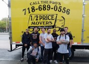 1/2 price movers - affordable & best removals nyc